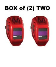 Box of (2) TWO Jackson Safety W10 HLX 100 Passive Welding Safety Helmets NEW!
