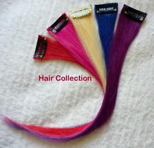 """12""""  Multi-Color Human Hair Clip On in Extensions for Highlights(5pcs)"""
