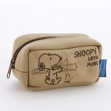 k40419 New SNOOPY with Music trombone mouthpiece pouch Made in Japan