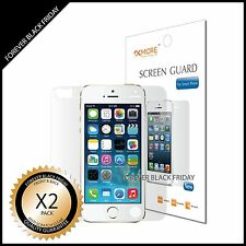iPhone 5S Screen Protector 2x HD Clear Anti-Scratch Front Back Cover Guard Film