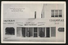 Postcard DAYTONA BEACH Florida/FL  Chinese Cafe & Tropical Bar view 1930's
