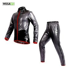 Shiny wet look glanz pvc  nylon track suit sport mens S  jacket pants