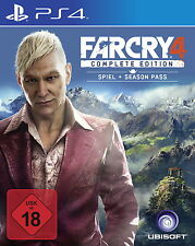 Far Cry 4  Complete Edition inkl. Season Pass - PS4 - NEU OVP
