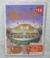Arashi Arafes'13 NATIONAL STADIUM 2013 Taiwan 2-DVD+poster (Normal Edition)