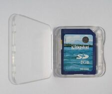 2GB  KINGSTON SD Memory Card Standard Blue Secure Digital  SD/2G Genuine