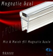 """5/16"""" to 3/8"""" Magnetic Profile for Glass-To-Glass Shower Door Seal - 32"""" Length"""