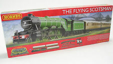 R1167 Hornby Flying Scotsman Modell Elektrisch Zug-Set OO-Messgerät