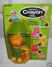#9089 RARE NRFC Vintage Lanard Mel Appel Crayon Doll Gina Green