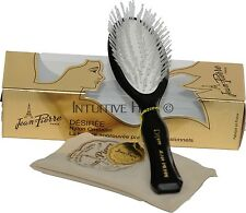 Hair brush Jean-Pierre Desiree Nylon Bristle - Rare!!! Hand Made in France