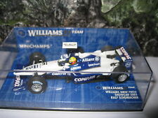 MINICHAMPS 1.43 F1 WILLIAMS F1 BMW FW 22  RALF SCHUMACHER 2001 SHOW CAR AWESOME