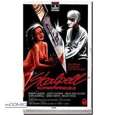 VHS Skalpell - Blutiges Spiegelbild   Dunkler Psycho HORROR Film auf RCA VIDEO