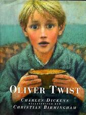 Oliver Twist by Charles Dickens (1996, Hardcover with Dust Jacket) Birmingham