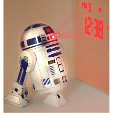 STAR WARS R2-D2 PROJECTION ALARM CLOCK (FREE P+P)
