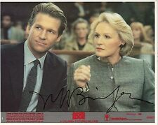 Hand Signed 8x10 JEFF BRIDGES in JAGGED EDGE Original photo Lobby Card + my COA