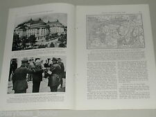 1939 magazine article about ESTONIA, pre-WWII, Russia, people, history etc