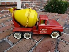 VINTAGE Struco Pressed Steel Truck ~ Cement Mixer