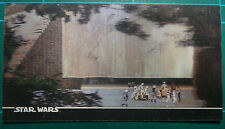 """Star Wars Topps 1996 3Di Widevision Card #47 """"The Rebel Hideout!"""""""