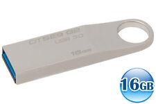KINGSTON DATA TRAVELER 16GB 16G SE9 G2 USB 3.0 Flash Drive Memory Stick 100MB/s*