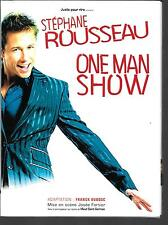 2 DVD ZONE 2 SPECTACLE--STEPHANE ROUSSEAU--ONE MAN SHOW BATACLAN 2006