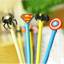 Captain America Hero Movie Gel Pen Creative Gifts Stationery Student Prizes
