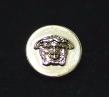 """GIANNI VERSACE MEDUSA HEAD GOLD METAL BUTTON Approximately 1/2"""" / 13MM"""
