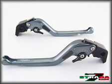 BMW R1200GS ADVENTURE 2006 - 2013 Strada 7 Long Carbon Fiber Inlay Levers Grey