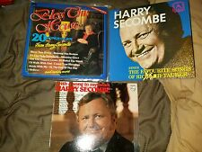 3x Harry Secombe records - double and single LP's