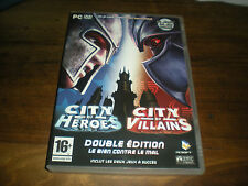 JEU PC CITY OF HEROES CITY OF VILLAINS - DOUBLE EDITION LE BIEN CONTRE LE MAL