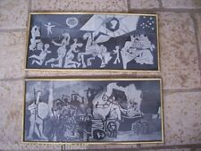 2 old reproductions Picasso