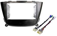 NEW! Aftermarket Radio Install 2Din Dash Kit w/ Rockford Fosgate System Adapter