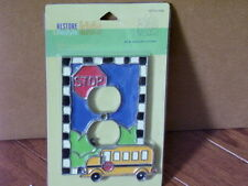 Restore & Restyle Kids Bus Outlet Cover-New