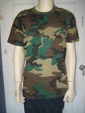 Camouflage CAMO T SHIRT Military Hunter Duck Dynasty Costume Halloween L / XL