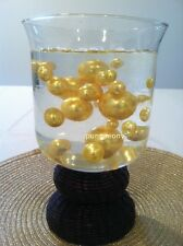 Elegant Gold Jumbo Pearls Vase Fillers/Table Confettti-Scatters