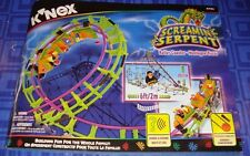 Knex K'Nex Screaming Serpent Coaster Manual Only, 139 pages Smoke Free Home