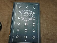 FIRST EDITION: Jan Vedder's wife by Amelia E Barr, 1885, Hardback book COOL