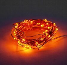 LED Fairy Lights- 6 Foot Battery Operated Waterproof with 20 Micro LED Lights