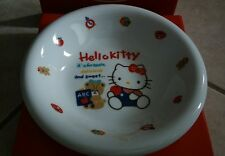 Sanrio hello kitty ceramic plate