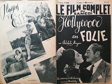 "LE FILM COMPLET 1938 N 2140 "" HOLLYWOOD EN FOLIE"" avec ADOLPHE MANJOU"