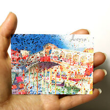 """ORIGINAL SMALL ART ACEO PICTURE WATERCOLOR ITALY PAINTING """"Venice"""" by artist"""