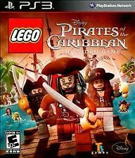 LEGO Pirates of the Caribbean: The Video Game (Sony PlayStation 3) DISC MINT