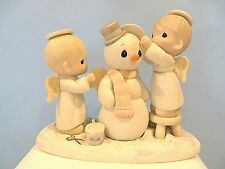 "PRECIOUS MOMENTS ""HALO, AND MERRY CHRISTMAS"" FIGURINE"