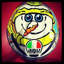 CASCO INTEGRALE AGV PISTA GP WINTER TEST 2016 VALENTINO ROSSI - TAGLIA M/S