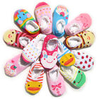 Cute Unisex Baby Kids Toddler Girl Boy Anti-Slip Socks Shoes Slipper 6-24 Months