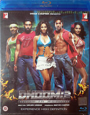 DHOOM 2 - OFFICIAL YRF BOLLYWOOD BLU RAY- Abhshek Bachchan, Uday Chopra, Hrithik