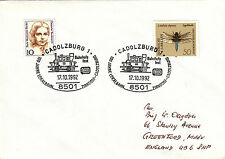 (21723) Germany Cover Trains - Cadolzburg 17 October 1992