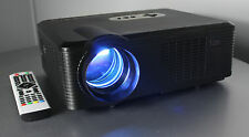 Open Box Fugetek 720P 2500 Lumen HD LCD Movie Projector USB&HDMI, PS3/4,Xbox, PC
