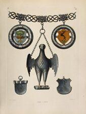 Schützenkette Rathaus München Schmied Renaissance Schützenkönig Armbrust Wappen