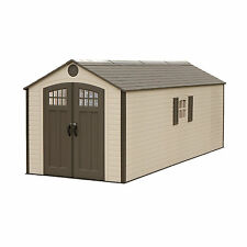 Lifetime Buildings 8x20 Outdoor Storage Shed Kit w/ 2 windows (model 60120)