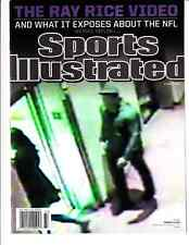 September 15, 2014 Ray Rice Domestic Violence in NFL Sports Illustrated NO LABEL
