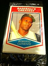RUTH CLEMENTE GEHRIG COBB 1989 CMC Baseball's Greatest SEALED 4 Card PACK Rare!!